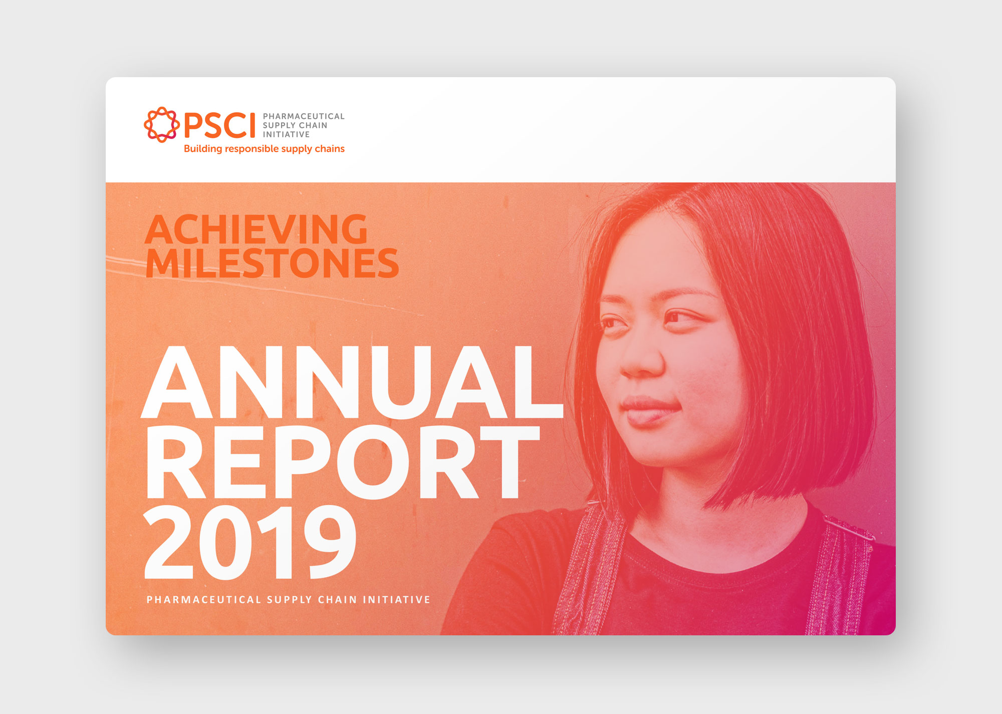 PSCI annual report 2019 cover