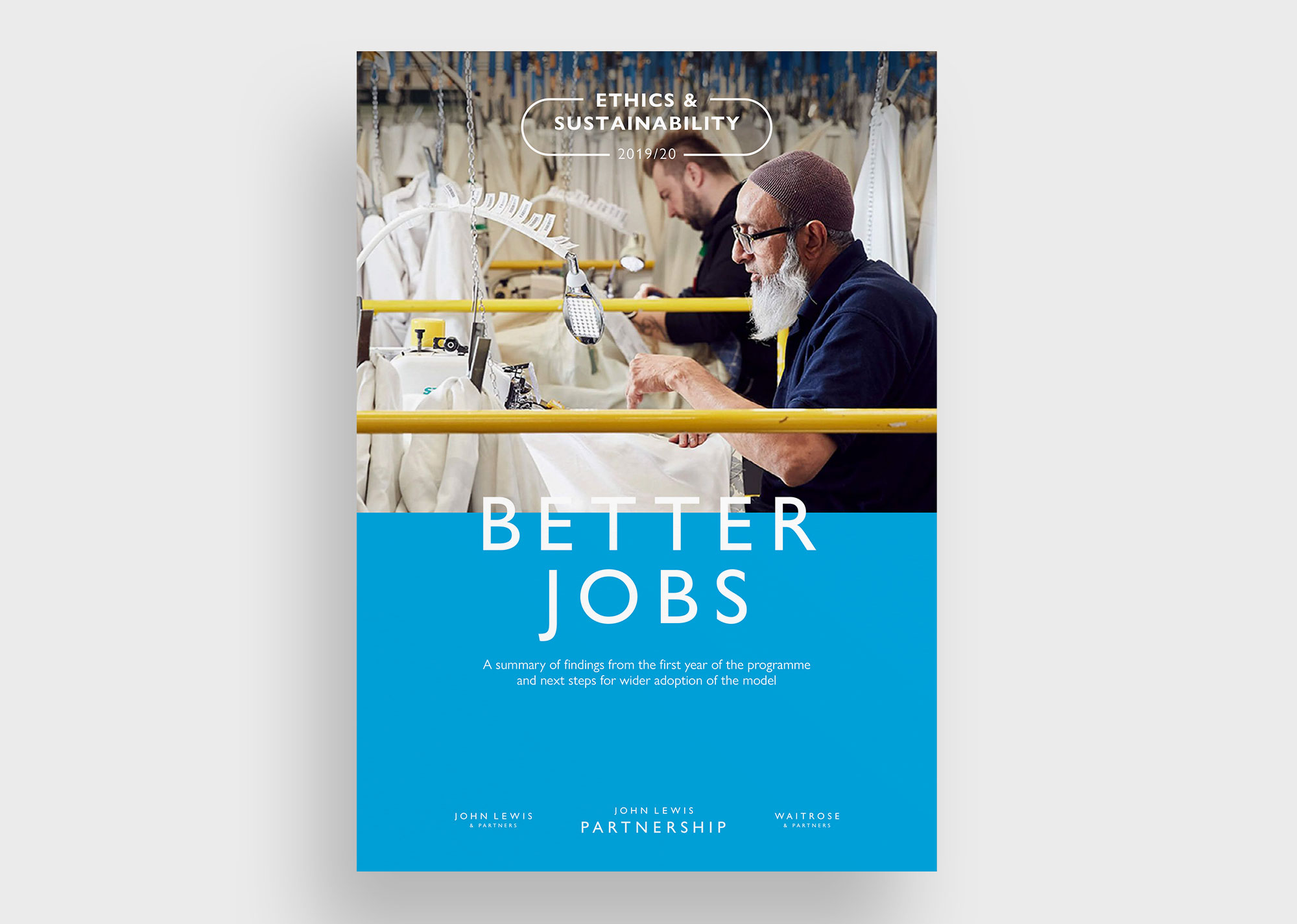 John Lewis Better Jobs report cover