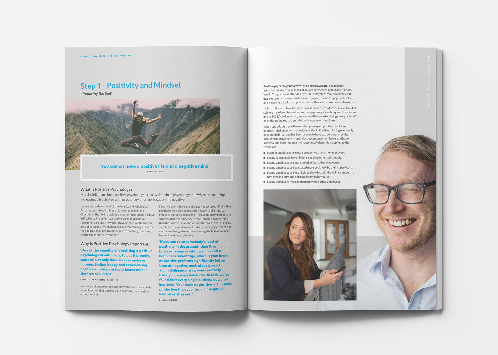 BarrettClark & Duncannon outplacement brochure spread 3