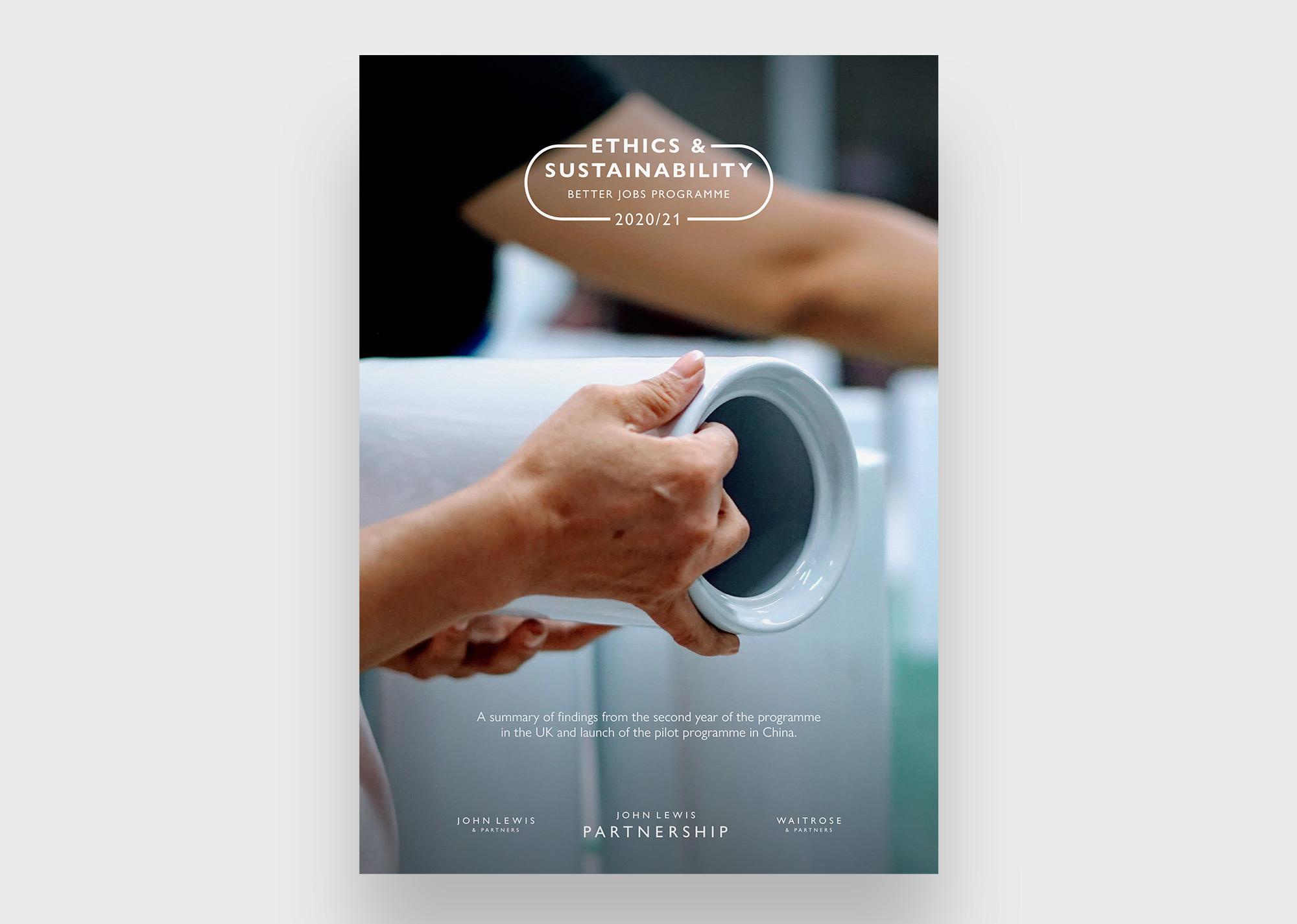 John Lewis Better Jobs report cover