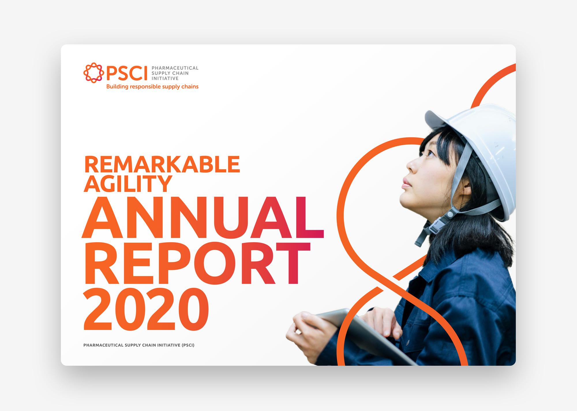 PSCI Annual Report 2020 cover
